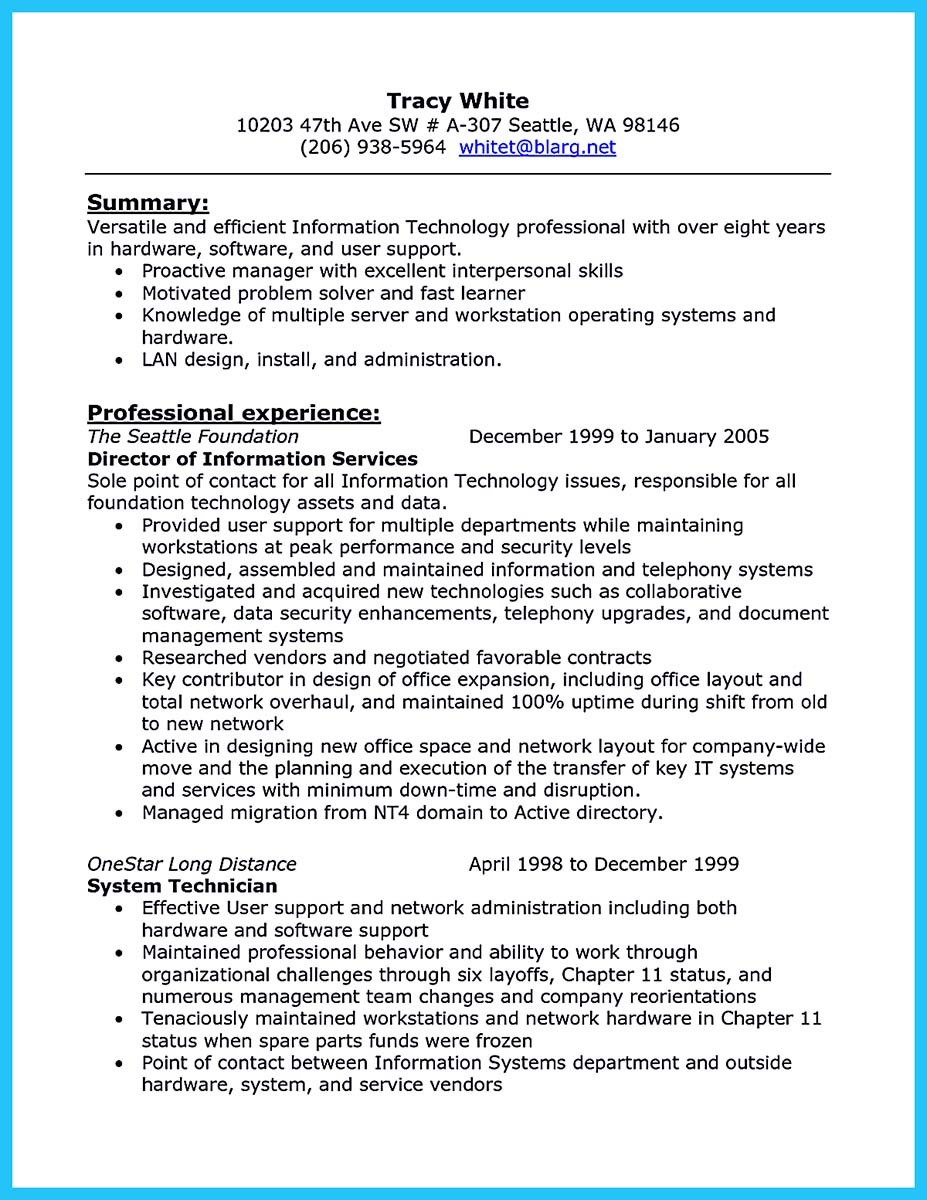 find auto mechanic resume