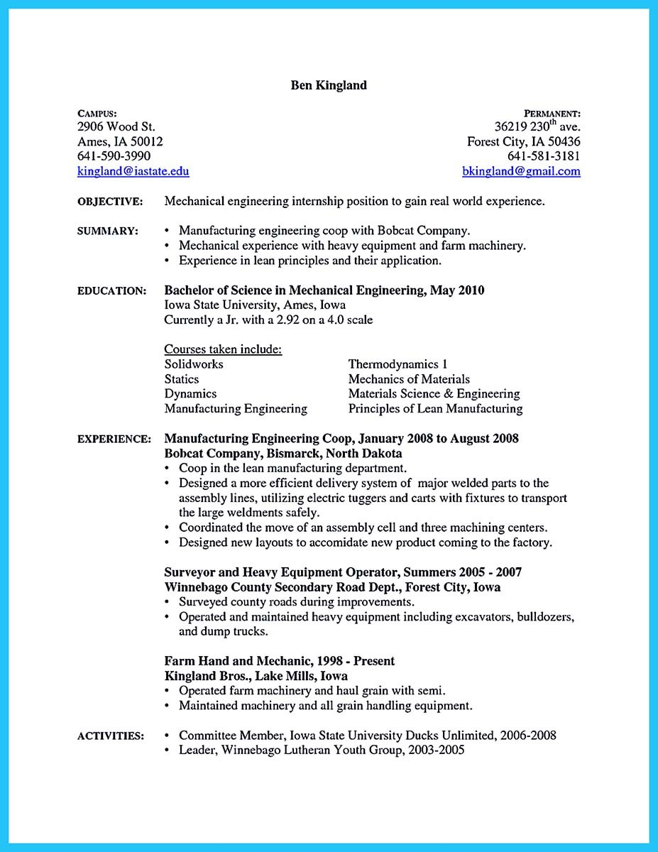 free automotive resume templates_001