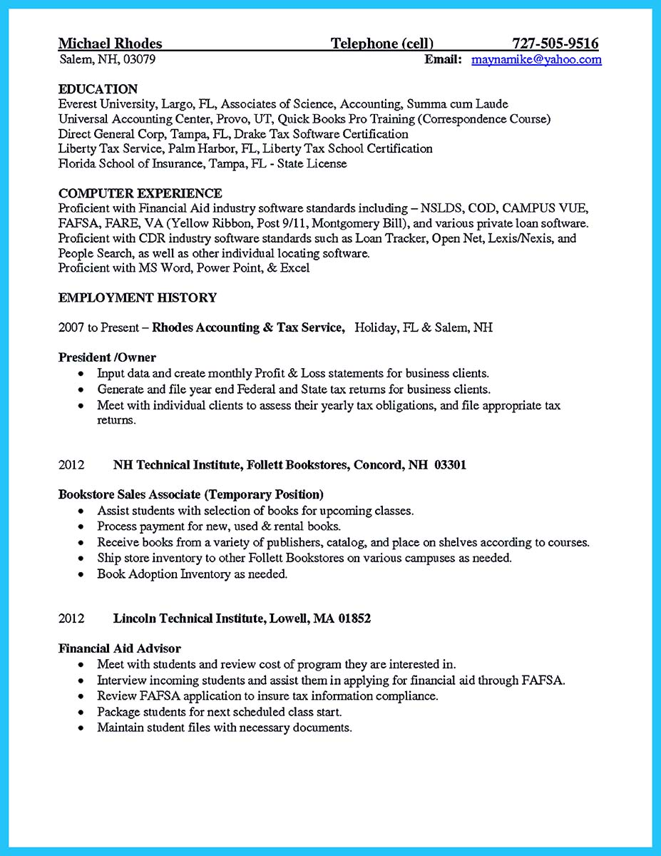 genetic counseling resume - Financial Aid Counselor Resume