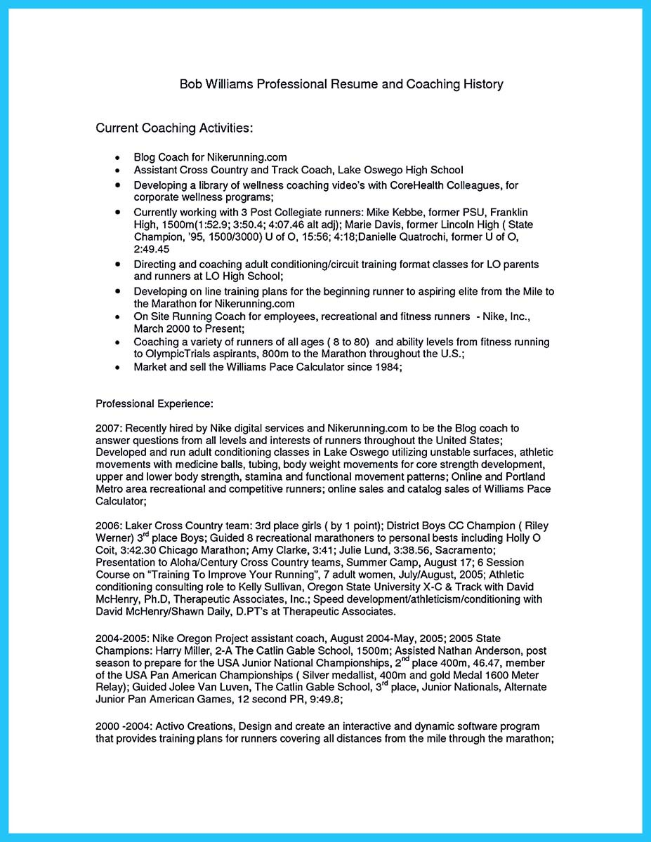 Captivating Thing For Perfect And Acceptable Basketball Coach Resume Head Basketball  Coach Resume And Basketball Coach  Basketball Coach Resume