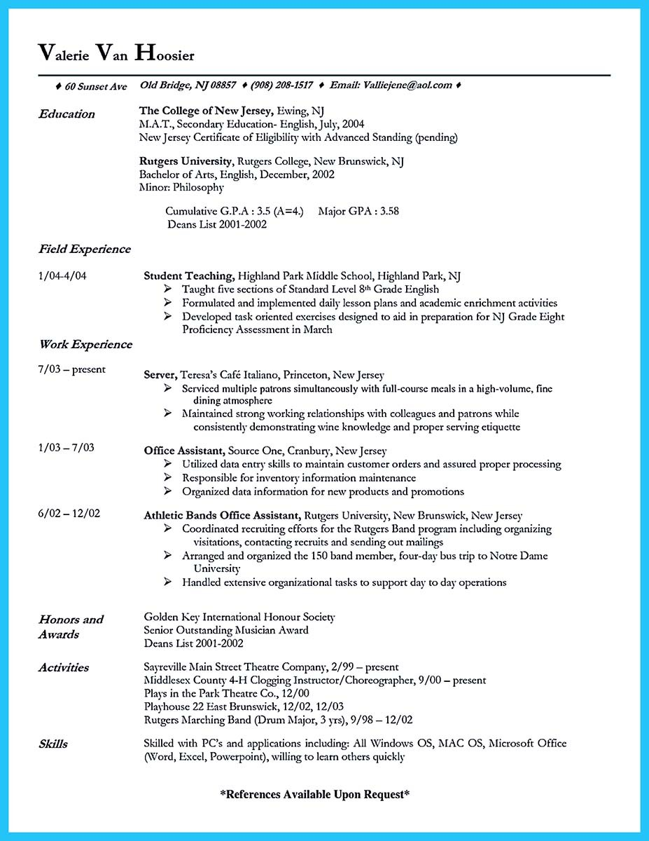 hotel banquet server resume and resume for banquet server sample