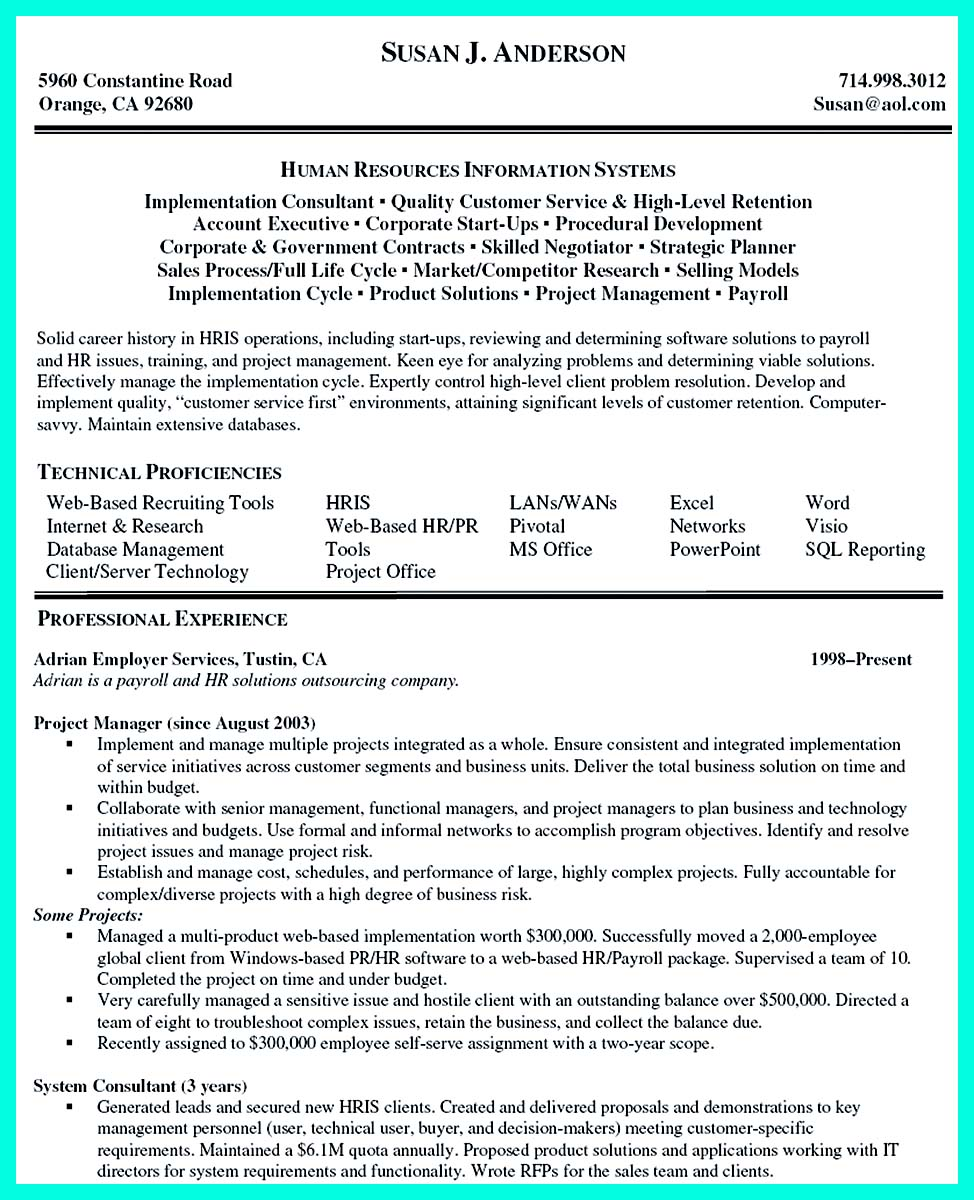 indian construction manager resume