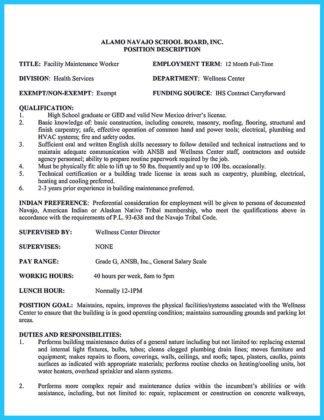 industrial carpenter resume
