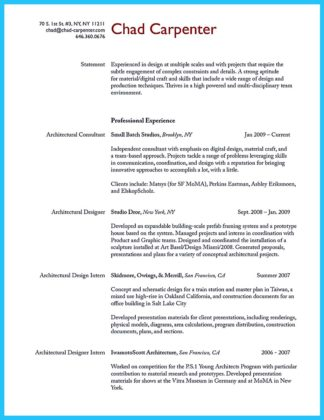 interior carpenter resume sample