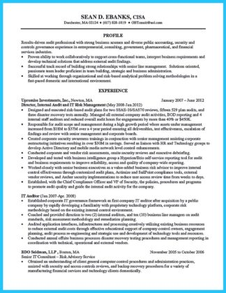 Making A Concise Credential Audit Resume How To Write A