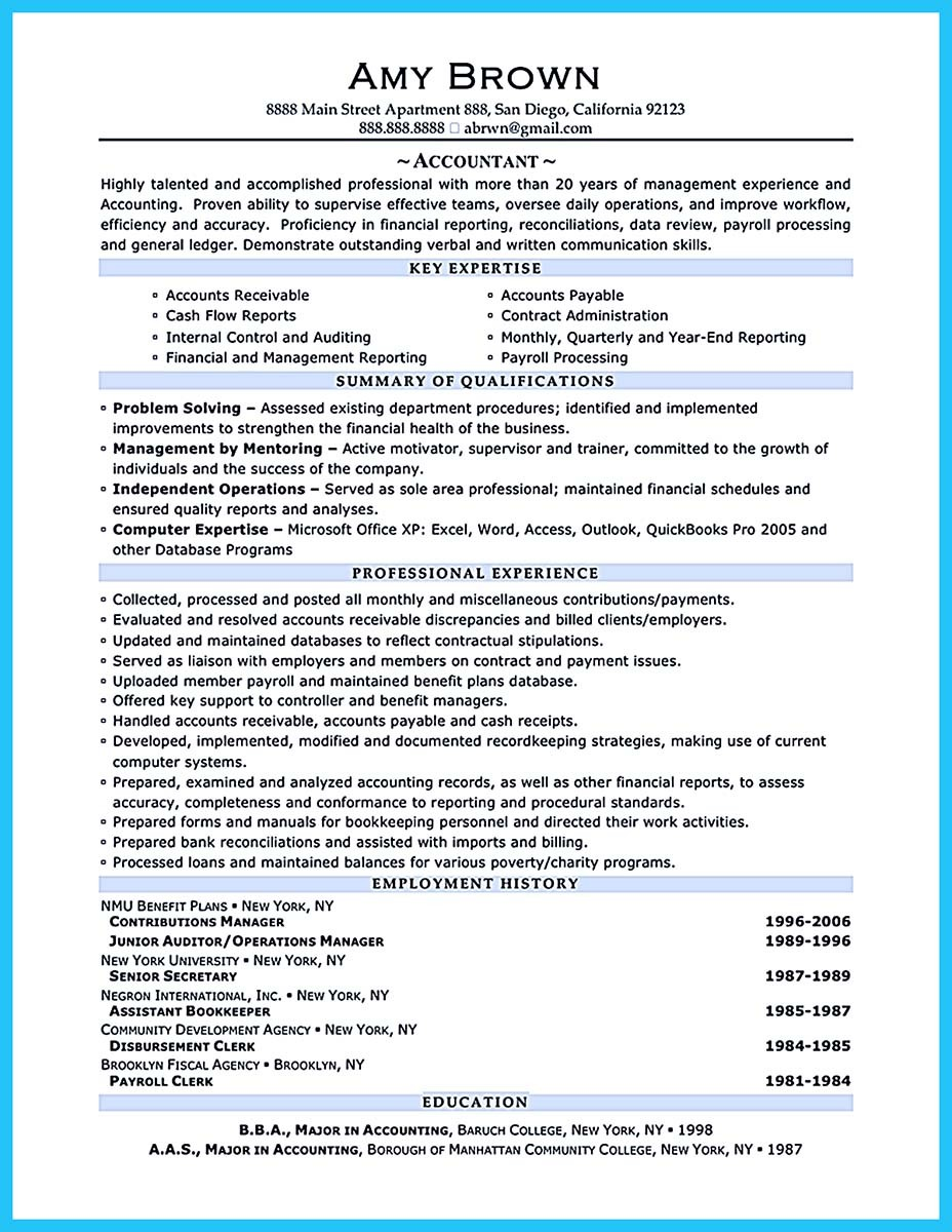 Outstanding Resume Objective Example