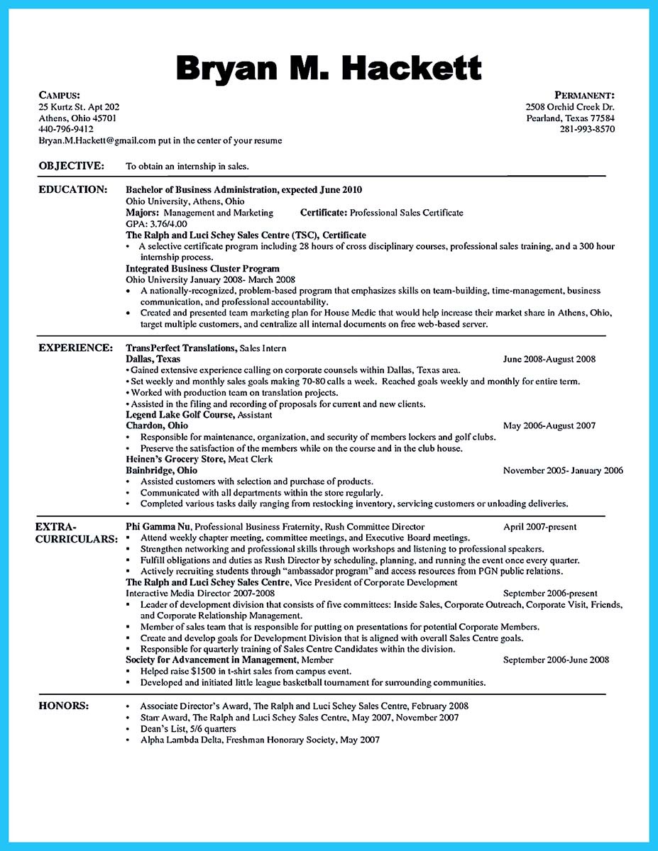 keywords for business administration resume