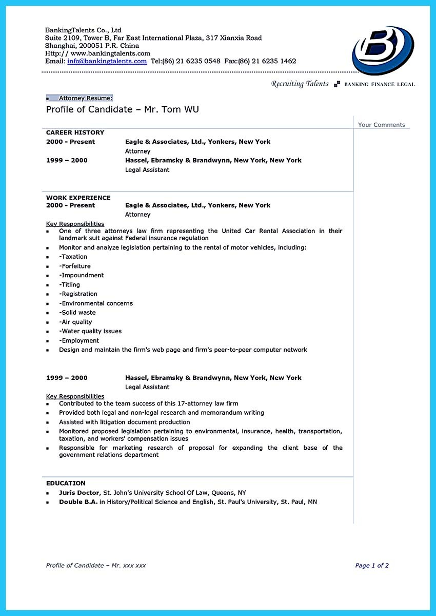 resume Legal Resume Sample India a great attorney resume sample lawyer template wordlegal india