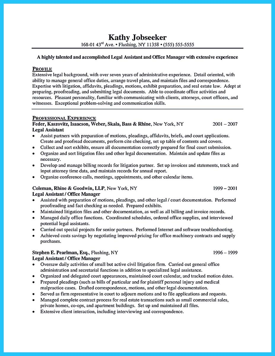 legal resume samplesassociate attorney resume sample