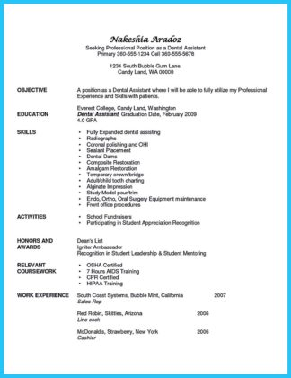 Writing Your Assistant Resume Carefully  %Image Name