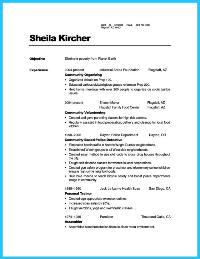 nutritionist-resume-sample