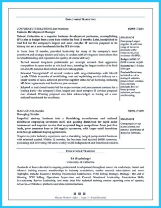 objective for business development manager resume