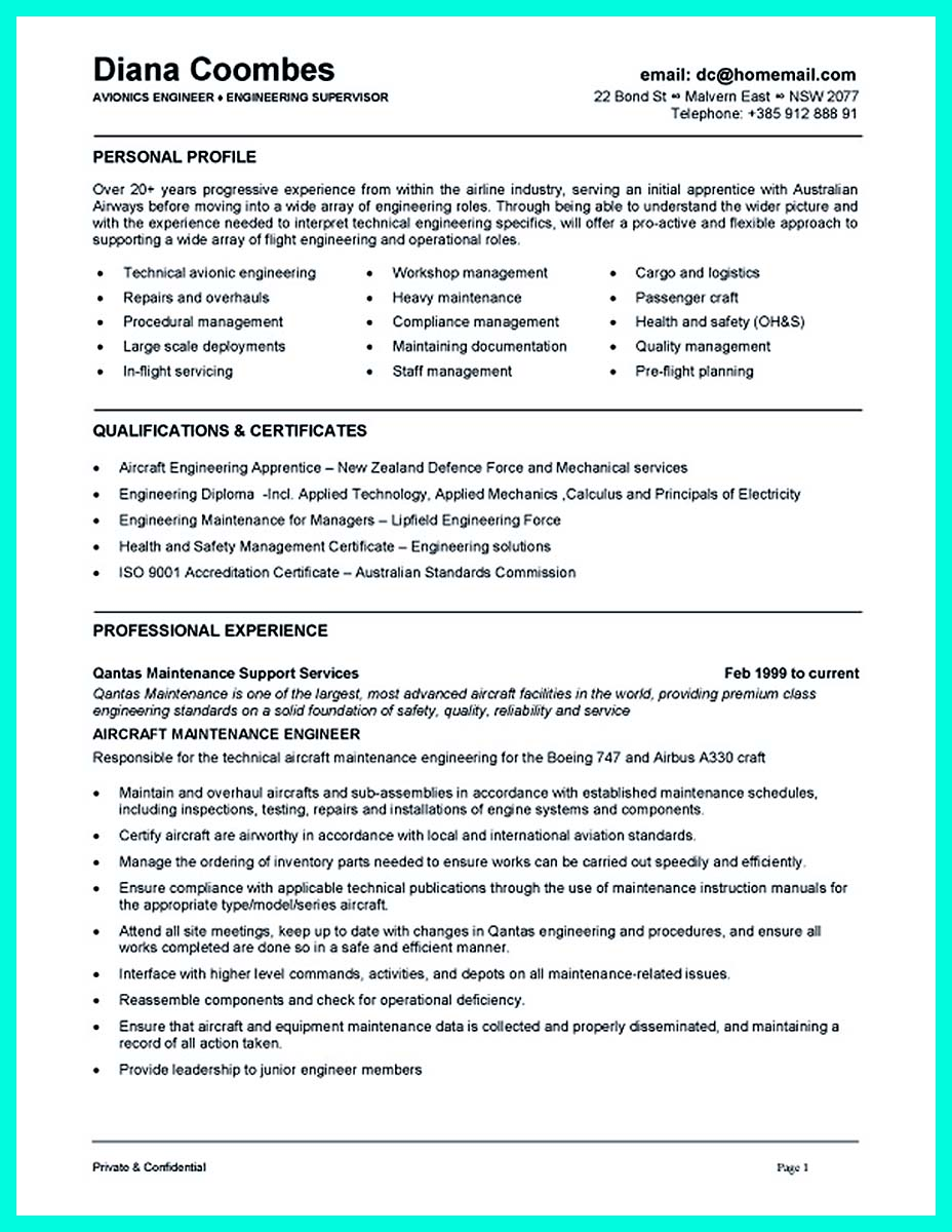 objective of computer engineering resume