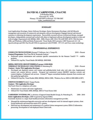 remodeling carpenter resume