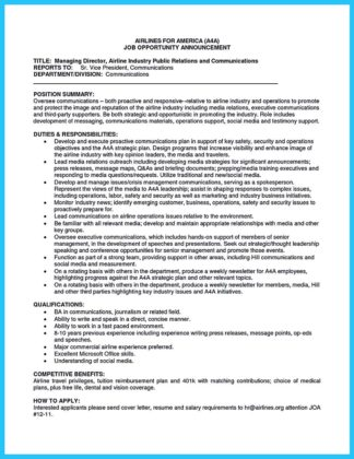 airline resumes learning to write a great aviation resume how to