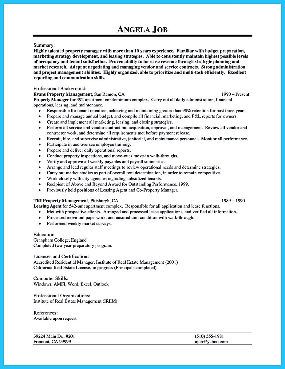 resume for assistant property manager (3)