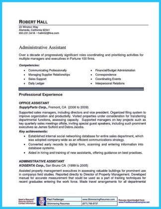 resume for assistant property manager (30)