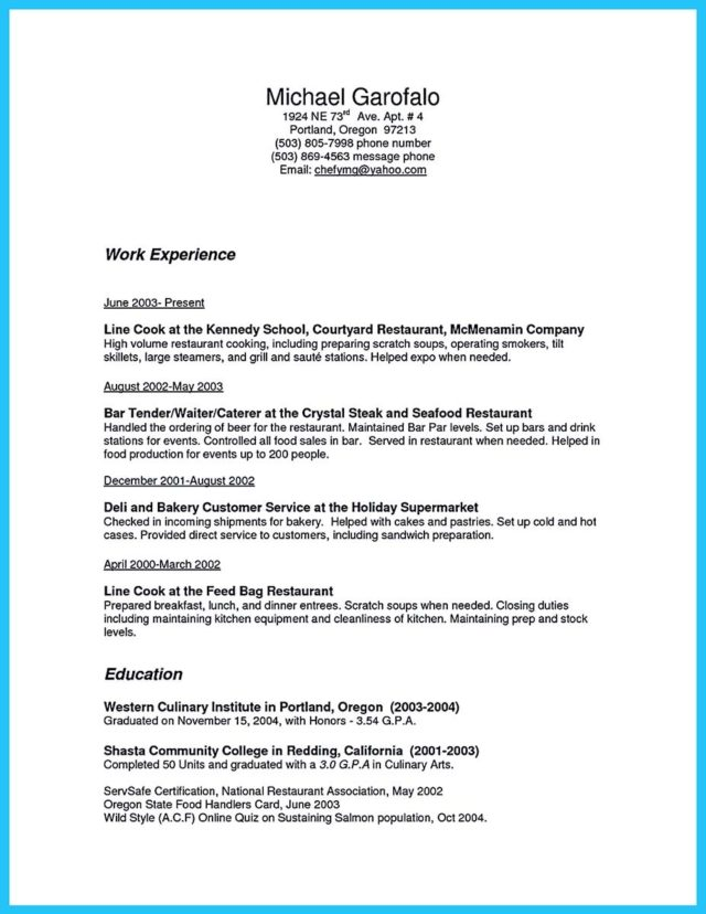 resume for bar manager and bar manager curriculum vitae