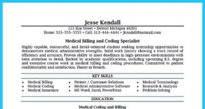 resume for billing specialist with insurance billing specialist resume