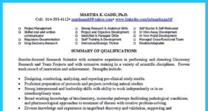 resume for biotech jobs and biotech resume writing services