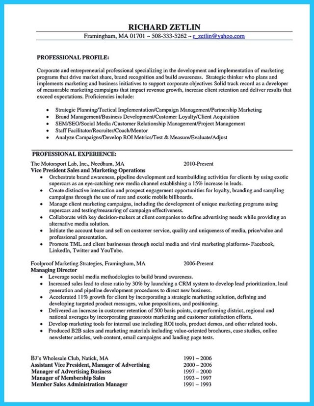 resume for brand ambassador and trade show brand ambassador resume