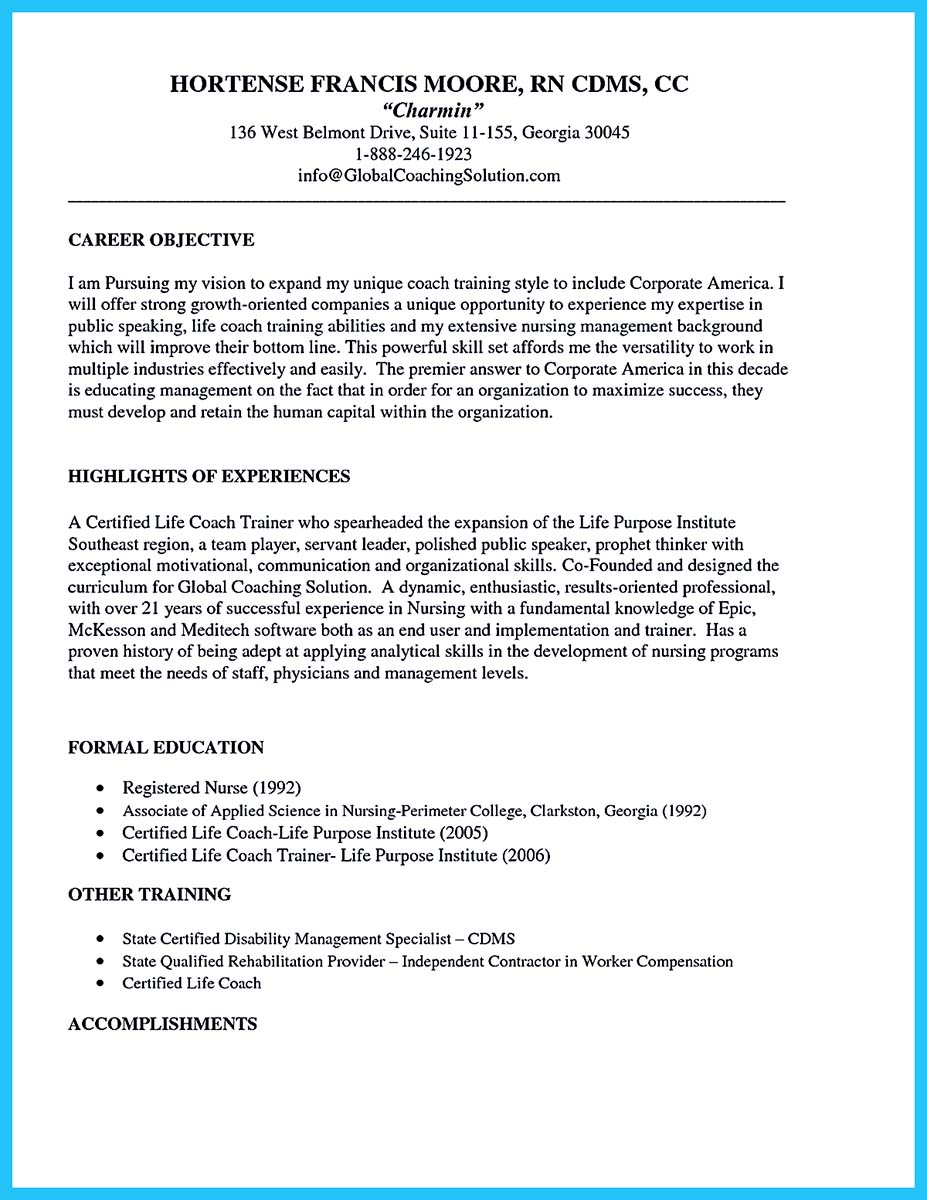 Brilliant Corporate Trainer Resume Samples To Get Job