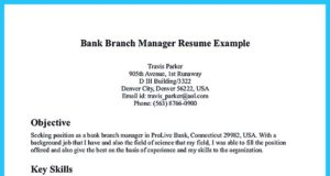 retail banking resume examples and resume title examples- banking