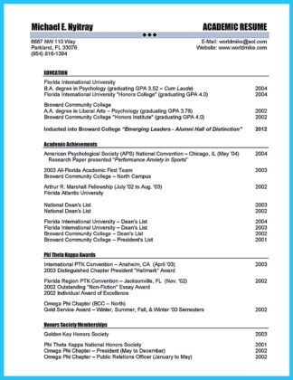 sample of cable technician resume