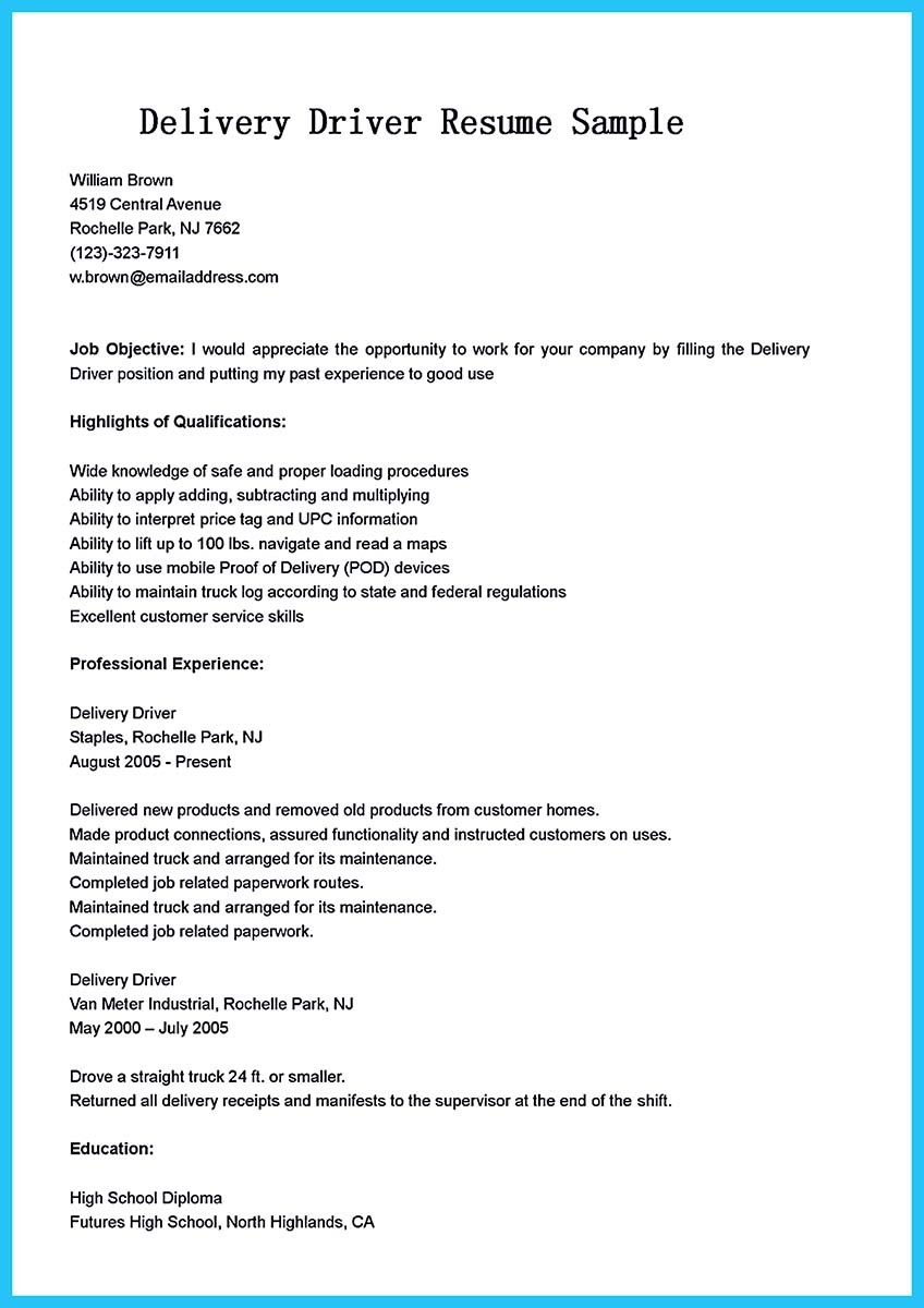 school bus driver resume example and bus driver resume summary