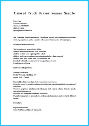 school bus driver resume examples and bus driver resume format