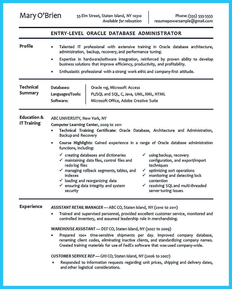 How To Write Professional Resume Template In Simple Steps  System Admin Resume