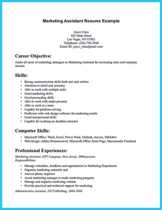 teacher assistant resume with no experience
