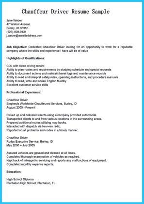 transit bus driver resume and tour bus driver resume