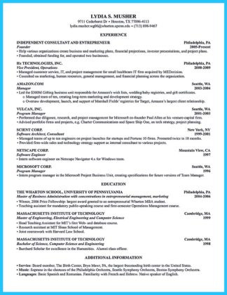 tuck business school resume book
