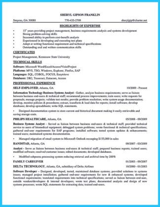 Best Secrets about Creating Effective Business Systems Analyst Resume  %Image Name