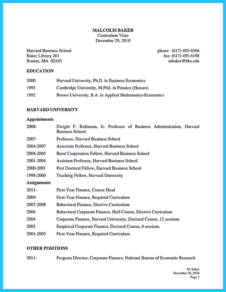 wharton business school resume book