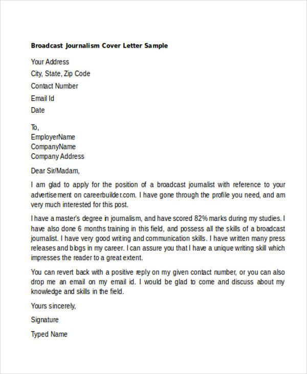 Generic Cover Letters For All Types Of Jobs And What To Include