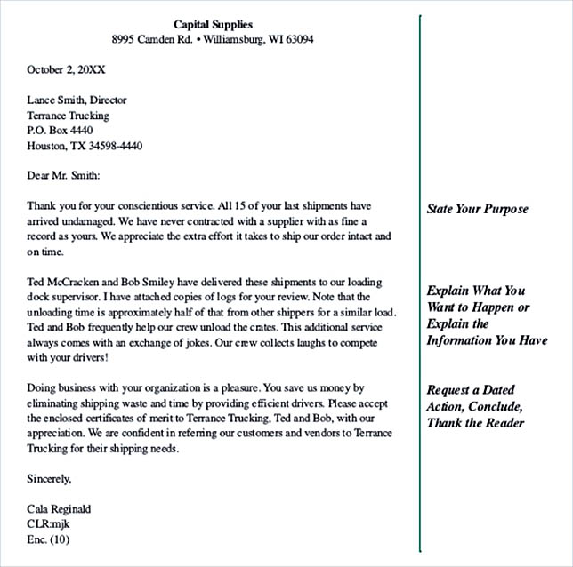 Business Letters For Busy People Free PDF Template
