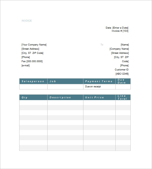 Increasing Value By Attorney Invoice Template Making With Tips - Attorney invoice template
