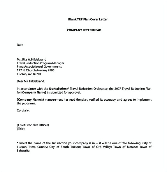 Ideal Blank Cover Letter Company Letterhead