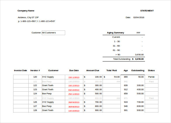 Monthly Invoice Template What Details To Include In The Format