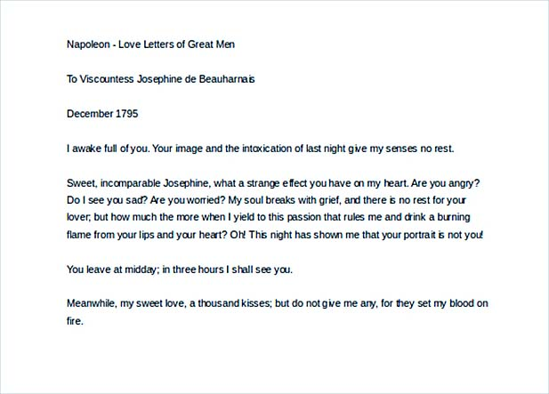 11+ Love Letters of Great Men with Tips You'll Love  %Image Name