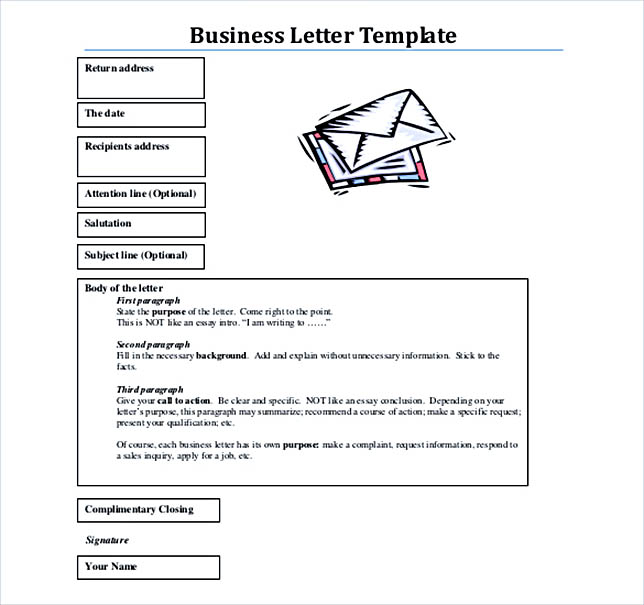 38 business letter template options know which format to use pdf format free download business letter template friedricerecipe Choice Image