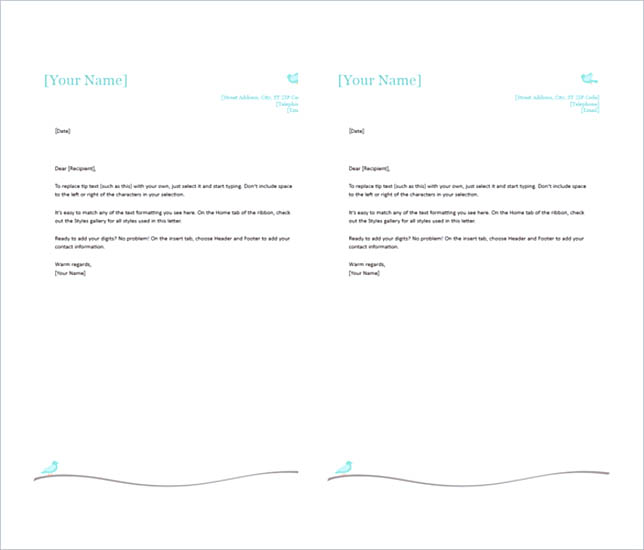 Create the Letterhead Design in Proper Way – Personal Letterhead