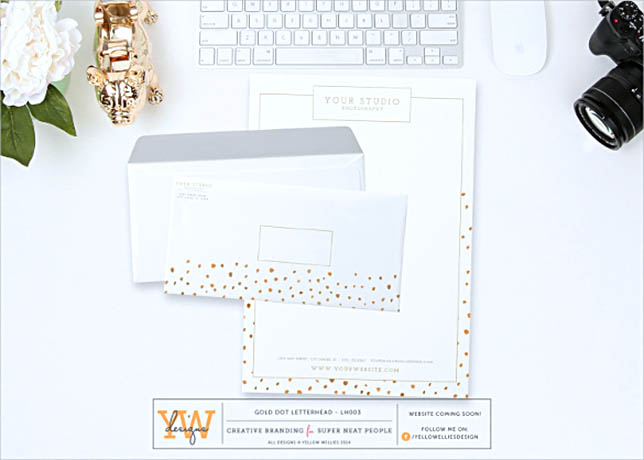 Stylish Letterhead Word Doc Template