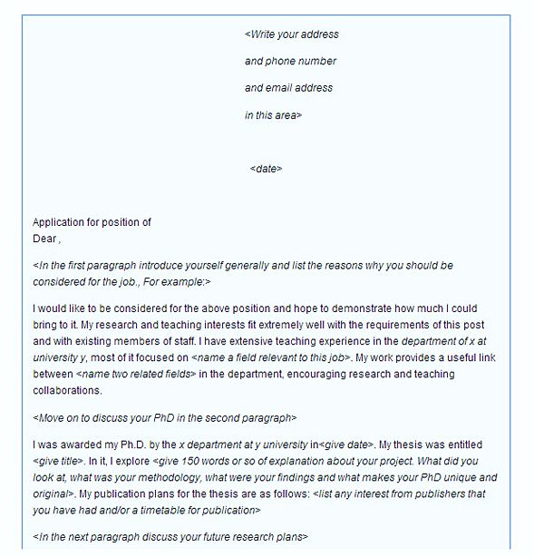 Example Of A Great Cover Letter Secrets You Should Know | How To