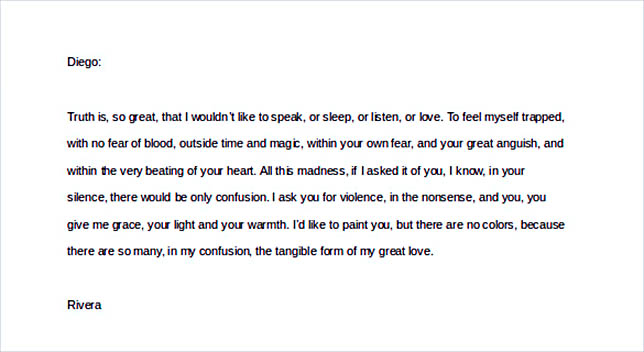 most romantic love letters for him