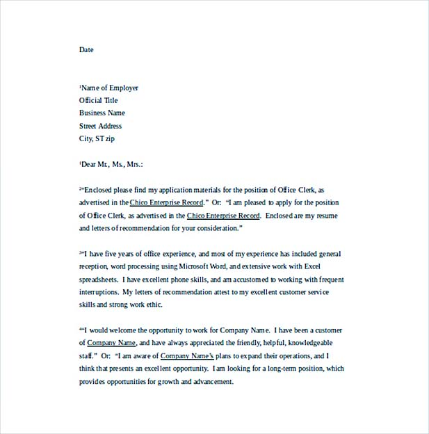 Create A Convincing Professional Cover Letter  How To Write A