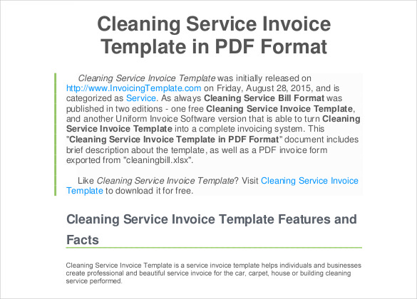 Generic Invoice Template To Ease The Invoice Ideas - Format for invoice bill for service business