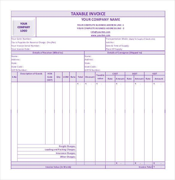 Gst Delivery Challan For Job Work Design Template